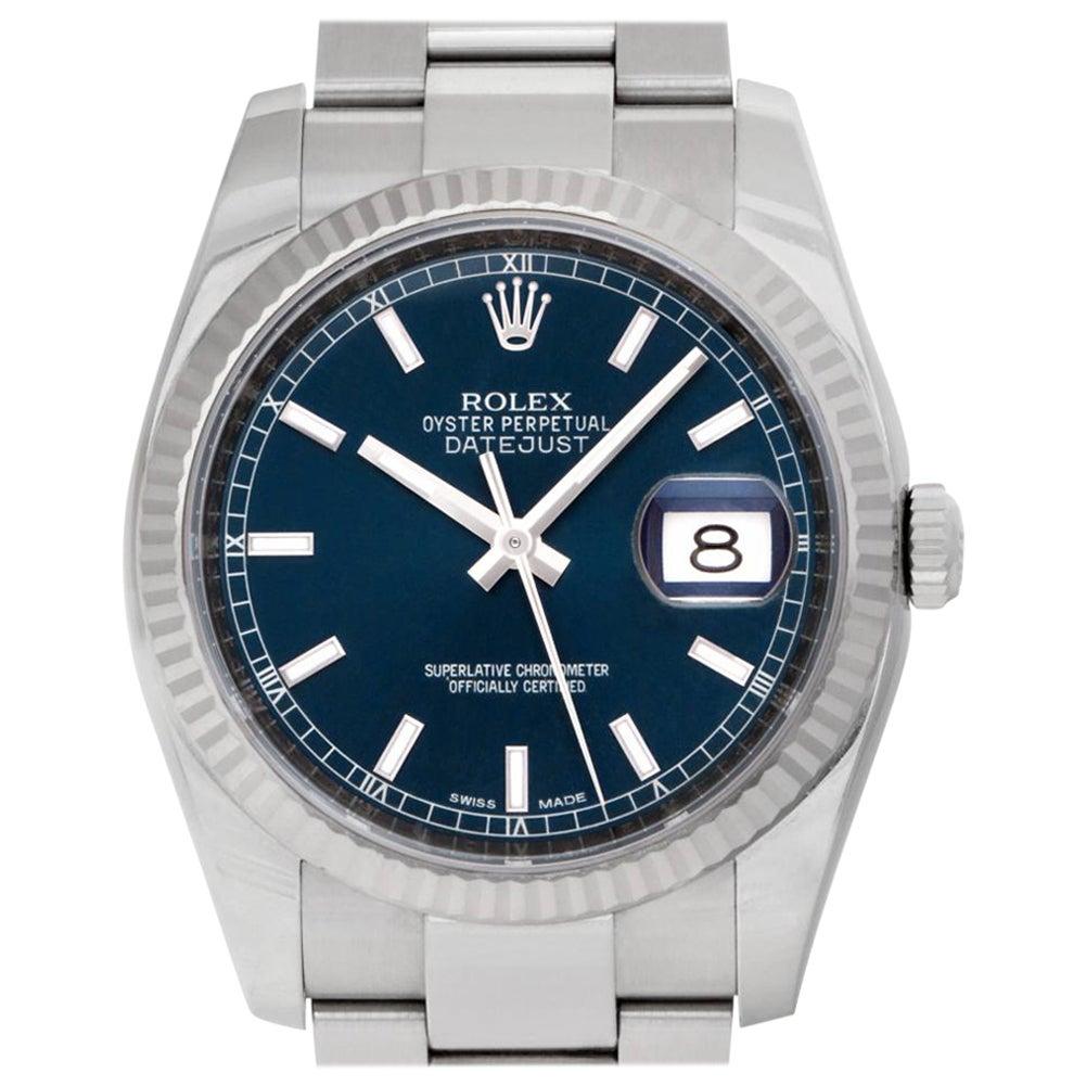Rolex Datejust 116234 Stainless Steel Auto Watch