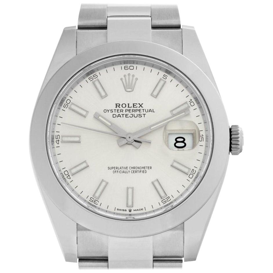 Rolex Datejust 41 126300 Stainless Steel Auto Watch