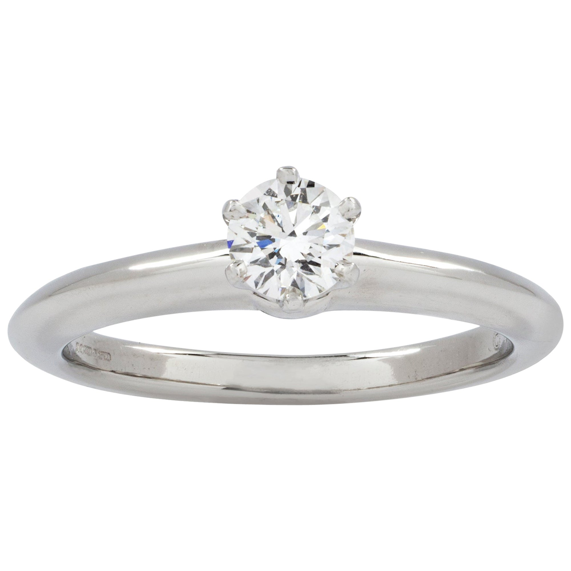 Tiffany & Co. Diamond Solitaire Ring