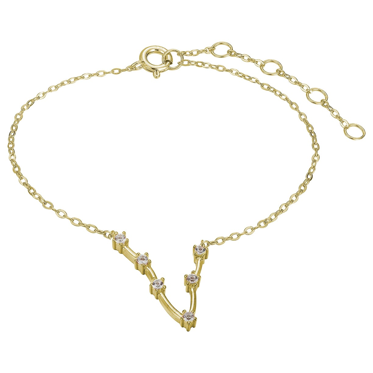Pisces Constellation Anklet