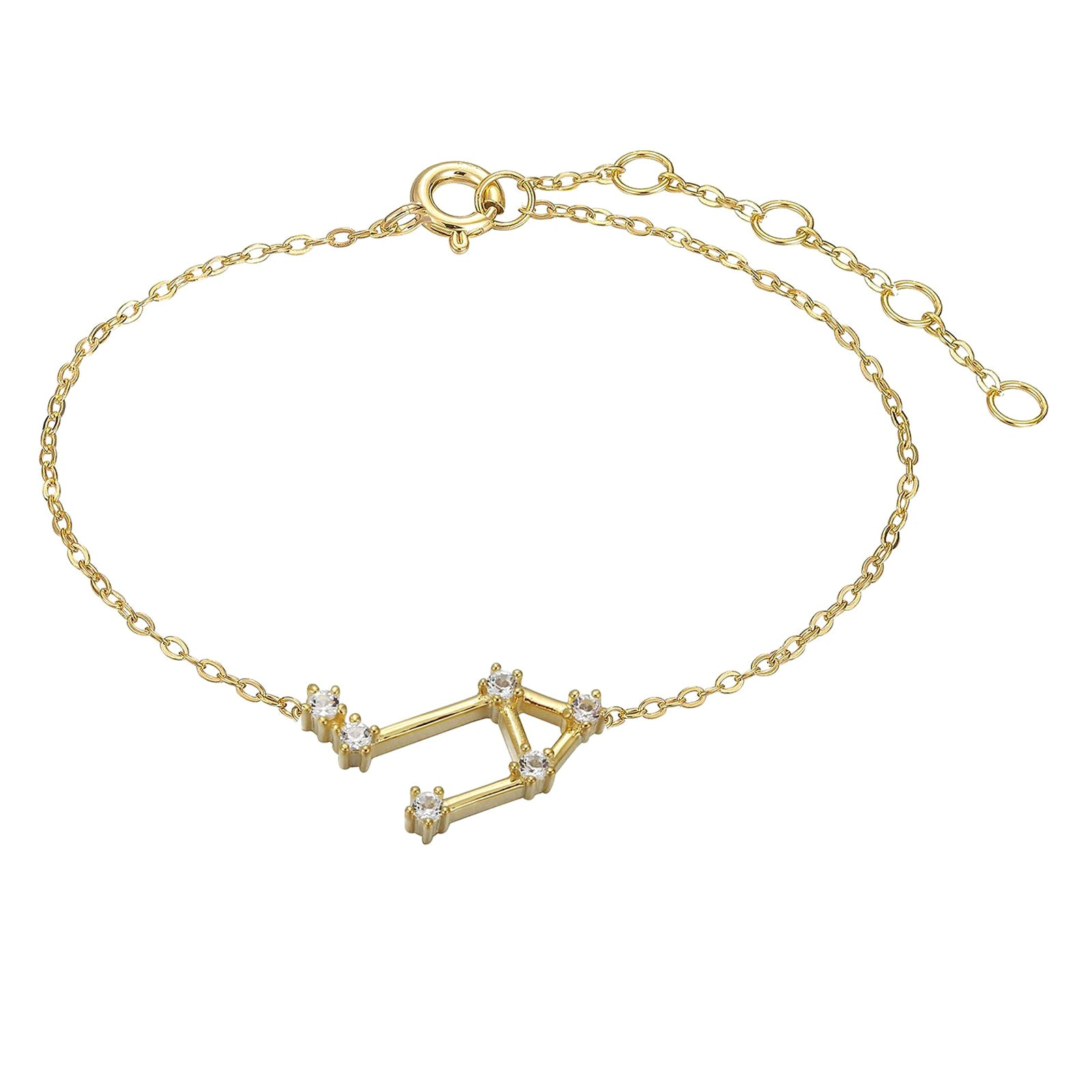 Libra Constellation Anklet