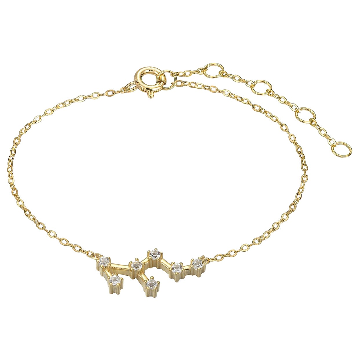 Leo Constellation Anklet