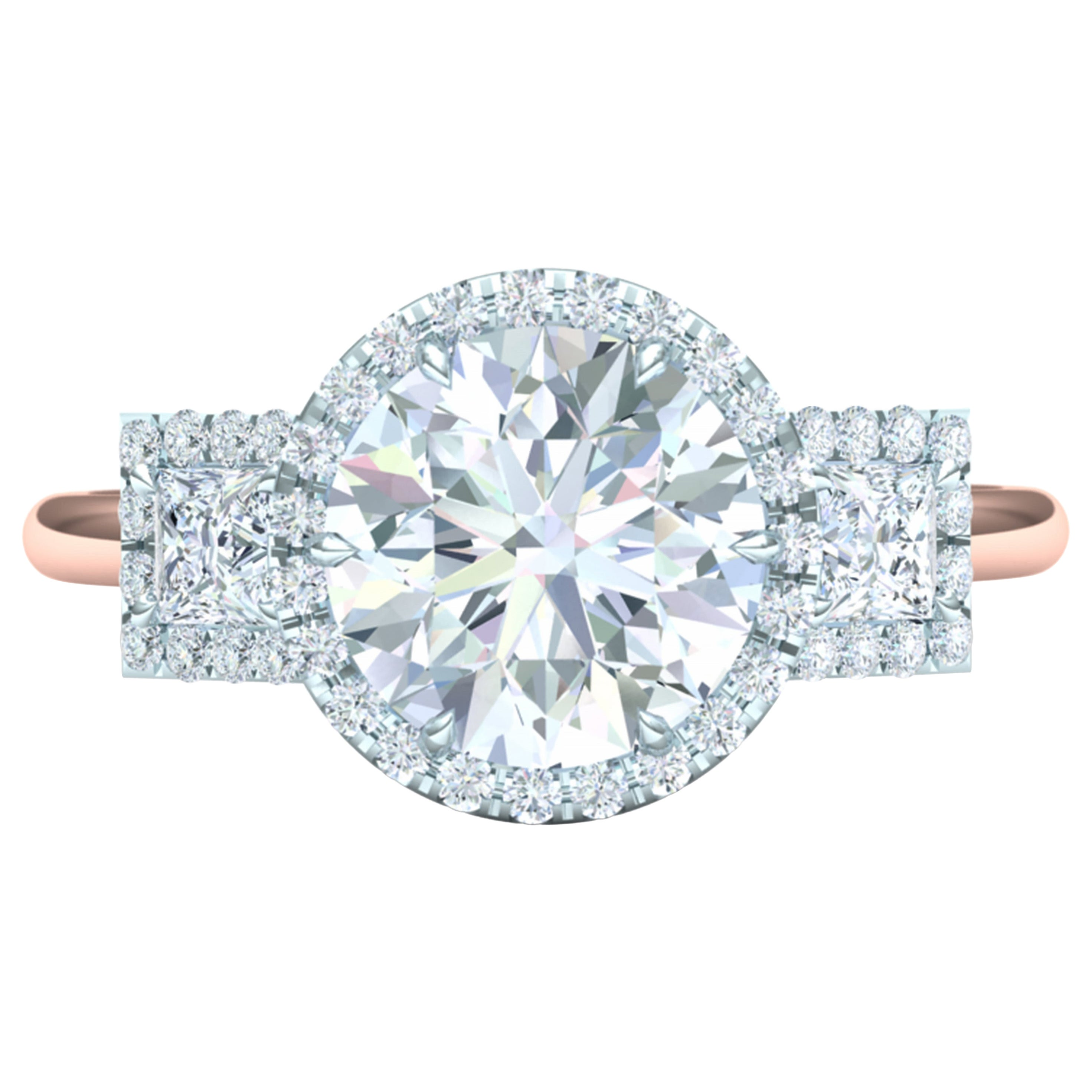 1.30 Carat Round Brilliant GIA Certified E-VS2