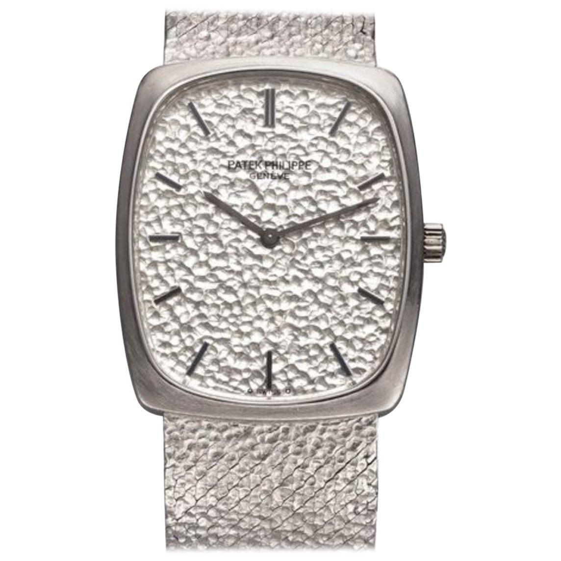 Patek Philippe Ellipse White Gold Watch