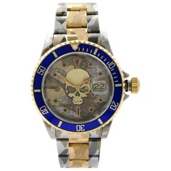 Rolex Submariner Steel 18 Karat Gold Custom Camo Automatic Men's Watch 16613