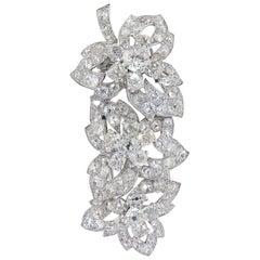 Cartier 1930s Diamond Brooch