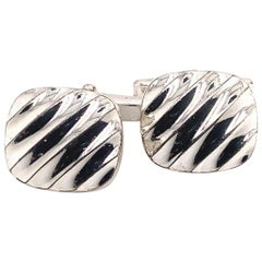 Tiffany & Co. Estate Cufflinks Sterling Silver 6.528 Gr