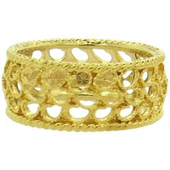 Buccellati Filidoro Yellow Gold Band Ring