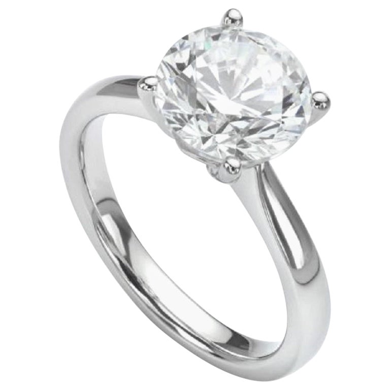 GIA Certified 1.30 Carat Diamond Ring  D Color VS2 Clarity