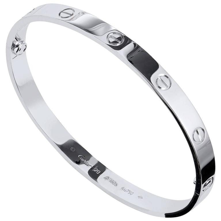 Cartier LOVE Bangle Bracelet 1