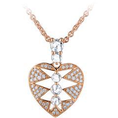 Jade Jagger Heart Diamond Pendant