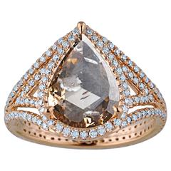 Jade Jagger Big Rock Ring