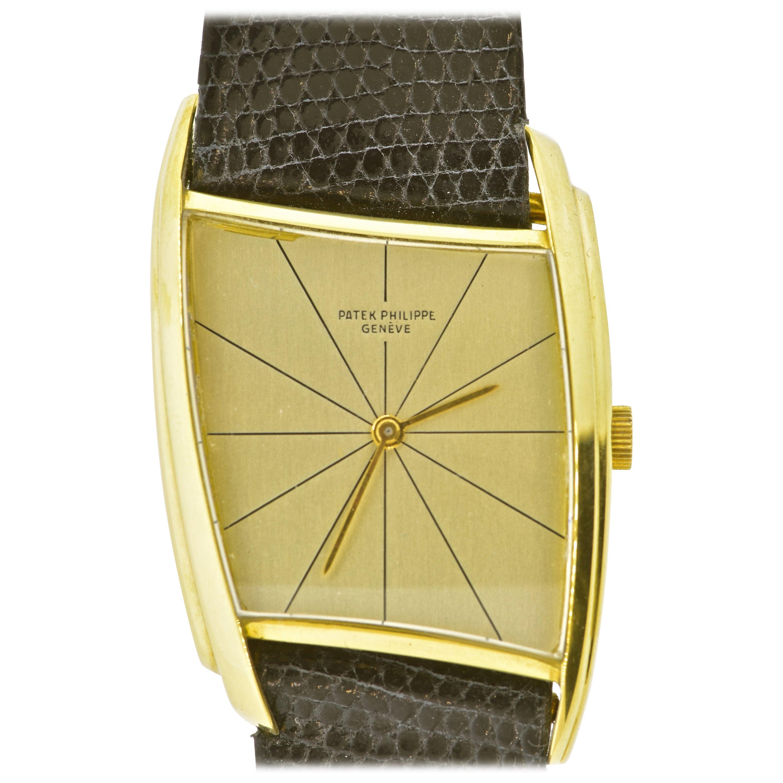 Patek Philippe Pristine Asymmetrical, Ref. 3424, Wristwatch, 1962