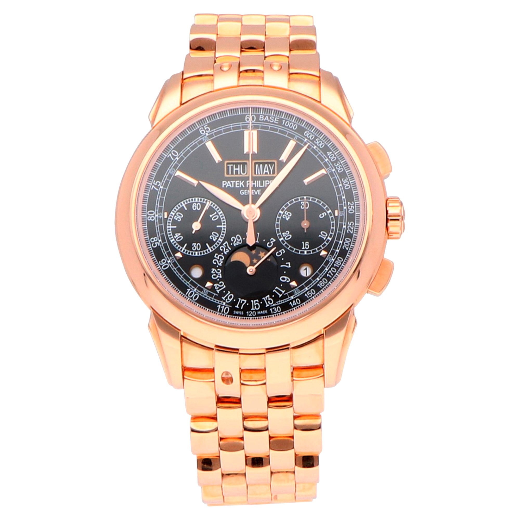 Patek Philippe Grand Perpetual Calendar Chronograph Rose Gold 5270/1R-001 Watch