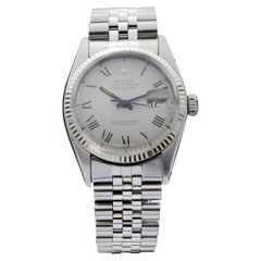 Vintage Rolex DateJust 16014 with Large Roman Numeral Dial, 1970s