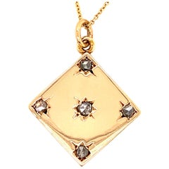 Antique Diamond and Gold Locket
