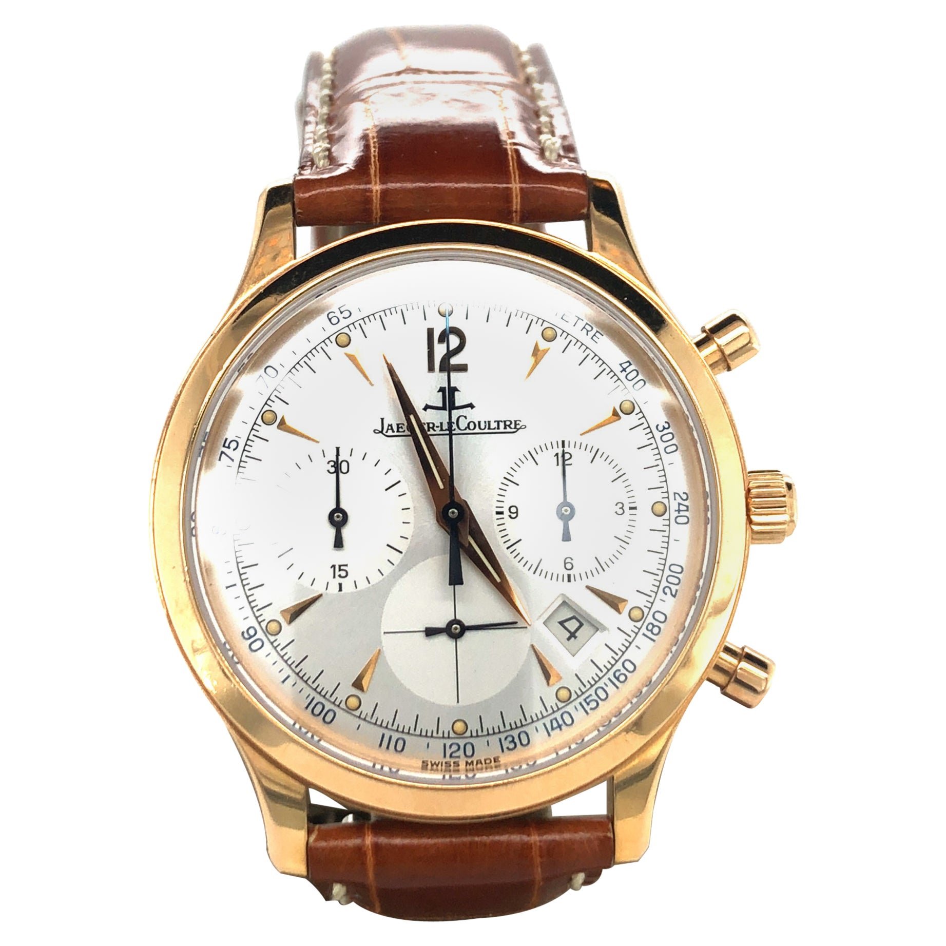 Jaeger-LeCoultre Master Control Chronograph in Roségold