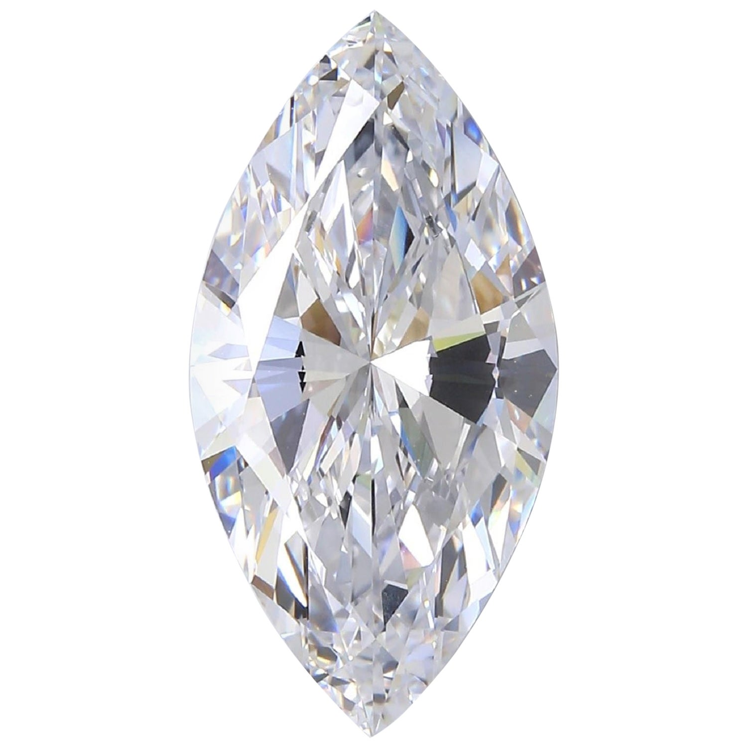 Internally Flawless D Color GIA Certified 8.33 Carat Marquise Diamond