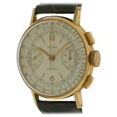 Rolex Rose Gold Chronograph Wristwatch Ref 3484