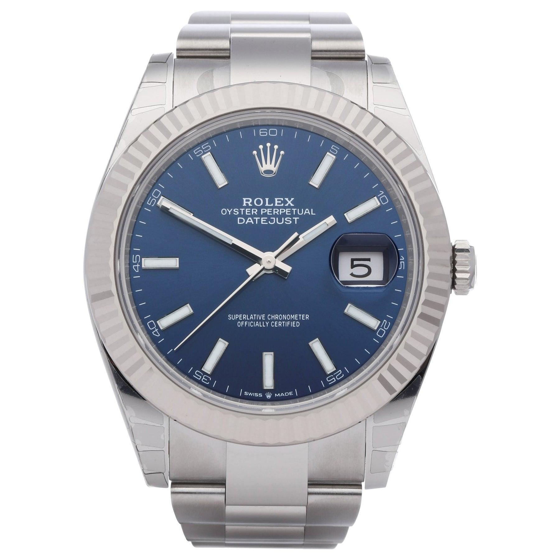 Rolex Datejust 126334 Men's Stainless Steel Watch