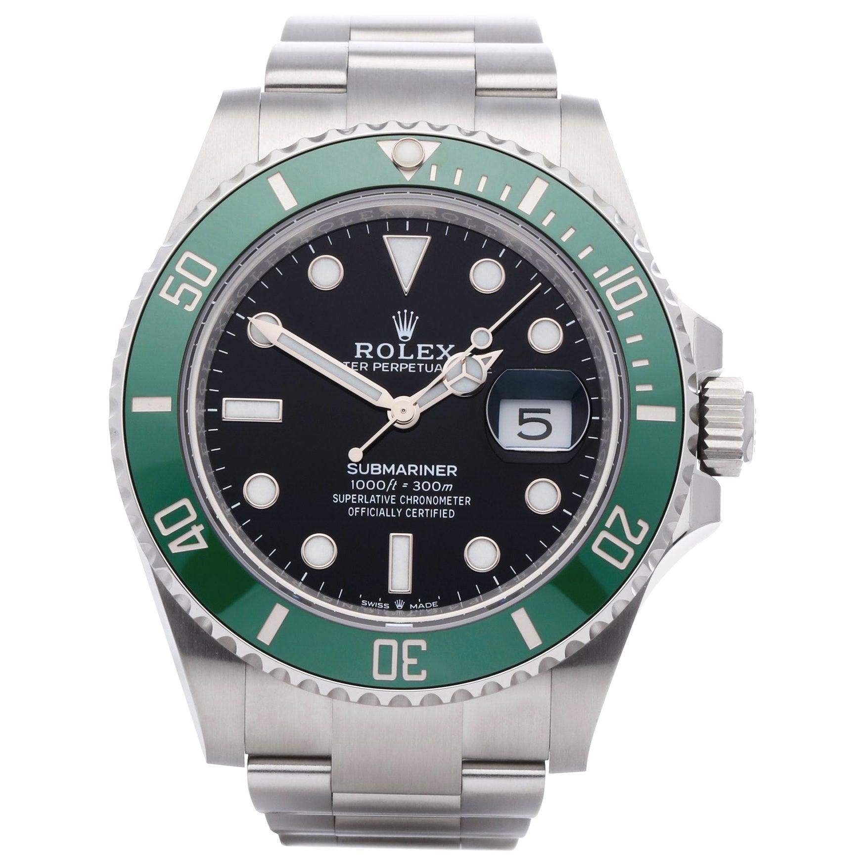 Rolex Submariner Date 126610LV Men's Stainless Steel Watch
