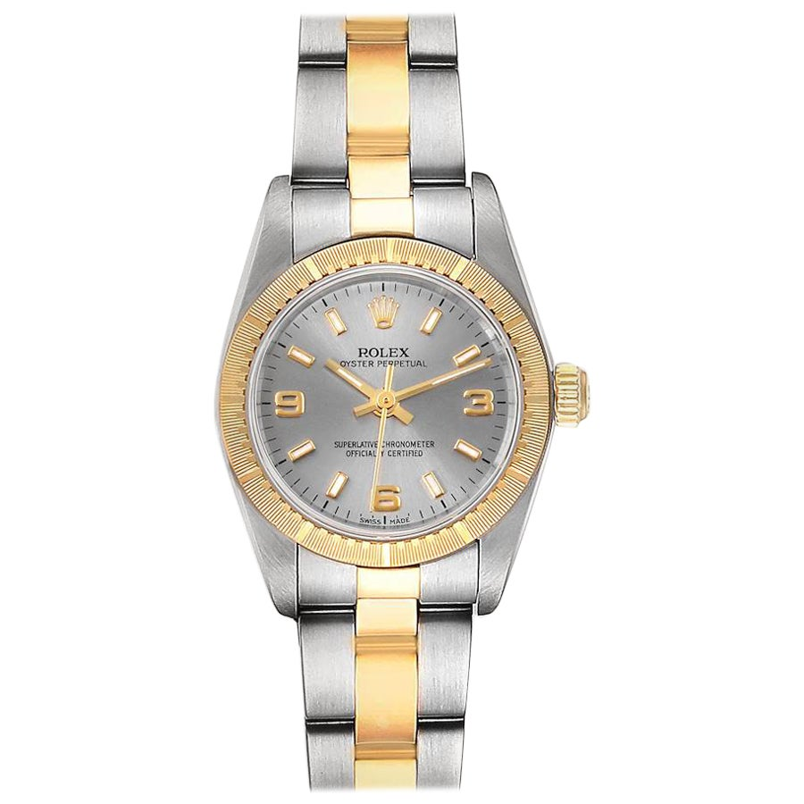 Rolex Oyster Perpetual Steel Yellow Gold Ladies Watch 76243