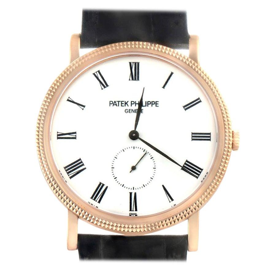 Patek Philippe Calatrava Rose Gold Men's Watch 5116 Unworn Sealed