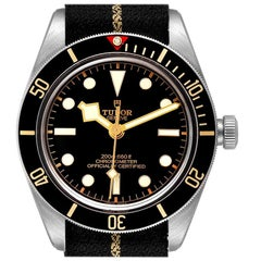 Tudor Heritage Black Bay Stainless Steel Men's Watch 79030 Box Papers