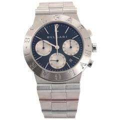 Bvlgari Diagono Chronograph Quartz Watch Stainless Steel