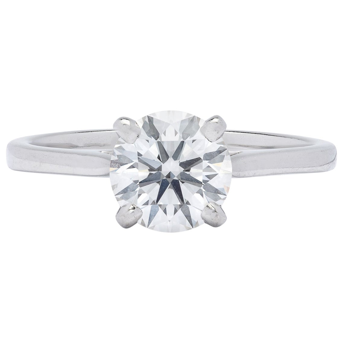 Gorgeous .86 Carat GIA F/VVS1 Diamond Ring