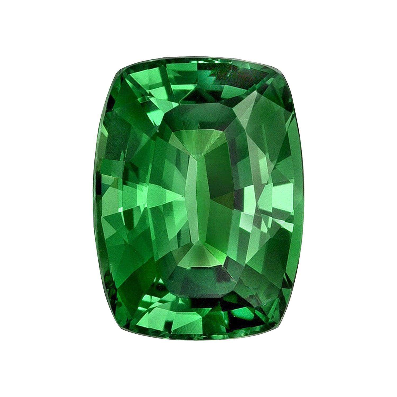 Tsavorite Ring Gem 1.96 Carat Cushion Loose Gemstone