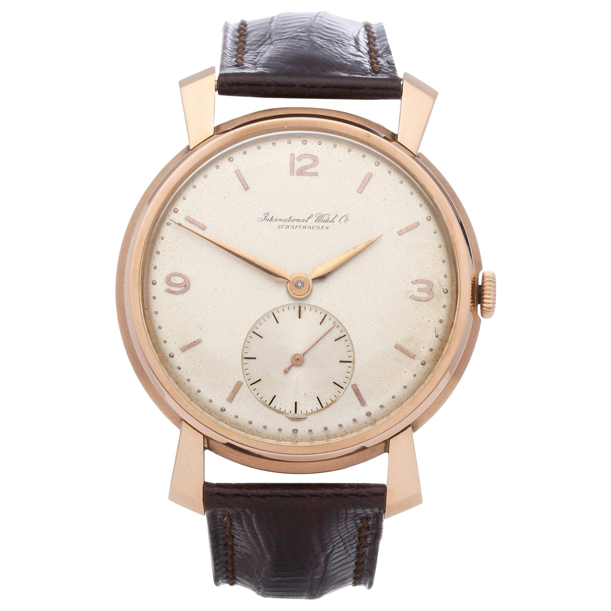 IWC Vintage C.88 Men's Rose Gold Watch