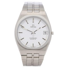 Omega Seamaster Quartz 1342 Men Stainless Steel Watch