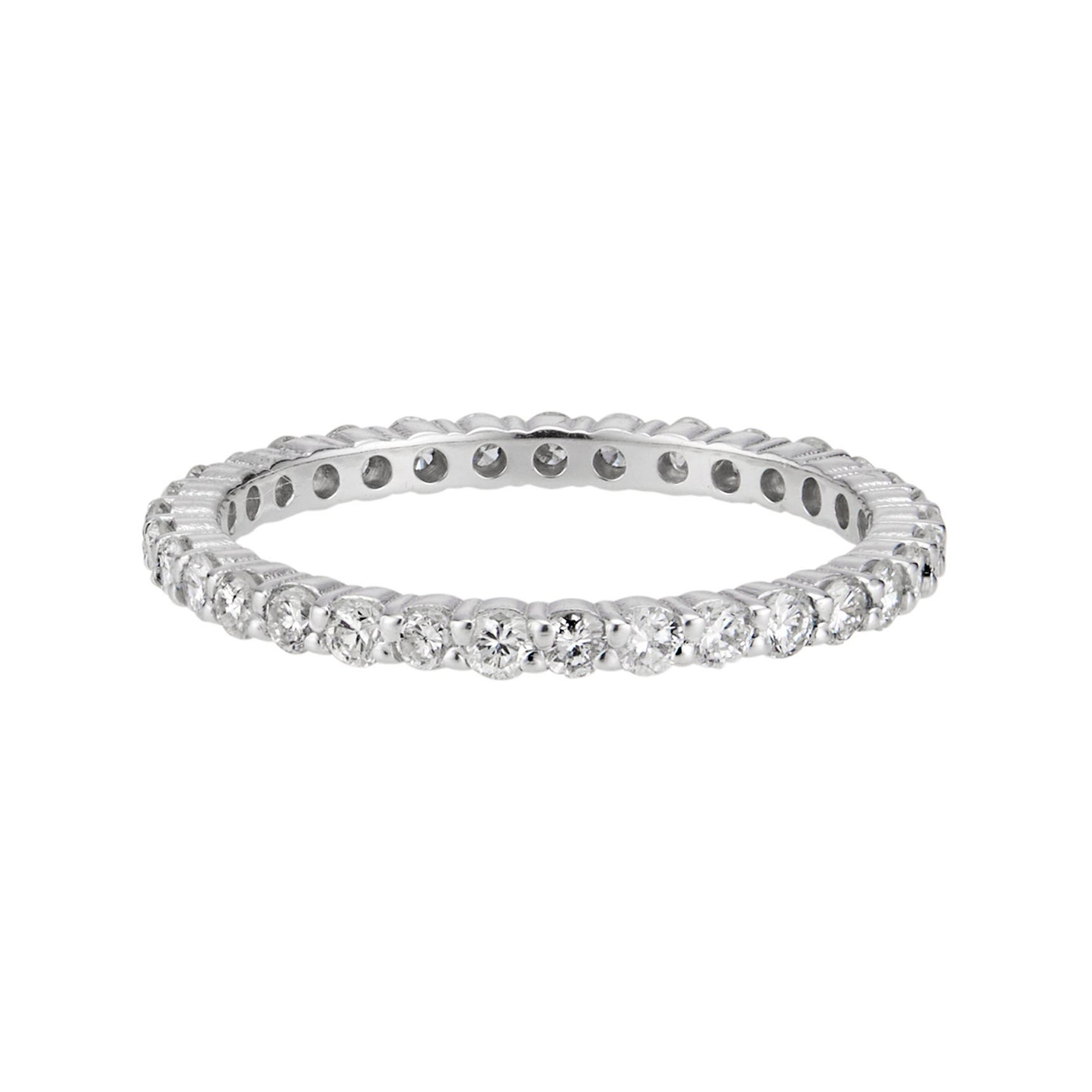 .70 Carat Round Diamond Platinum Eternity Band Ring