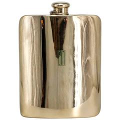 TIFFANY & CO. MAKERS Large Gold Flask