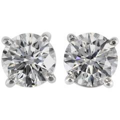 Tiffany & Co. 4.63 carats Diamond Studs