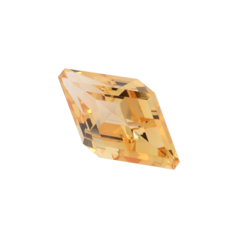 Imperial Topaz Ring Gem 1.89 Carat Kite Shape Loose Gemstone