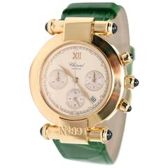 Chopard Yellow Gold Imperiale Chronograph Wristwatch