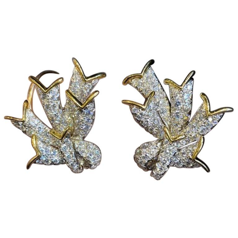 Jean Schlumberger for Tiffany & Co. Diamond Earrings