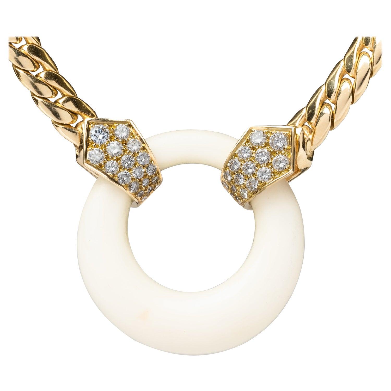 18K Vintage Van Cleef Arpels Necklace