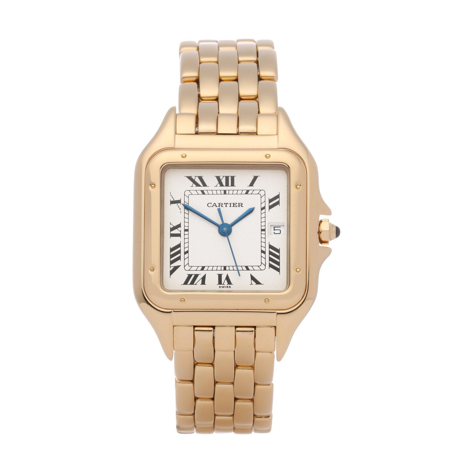 Cartier Panthère 887968 Men's Yellow Gold Watch
