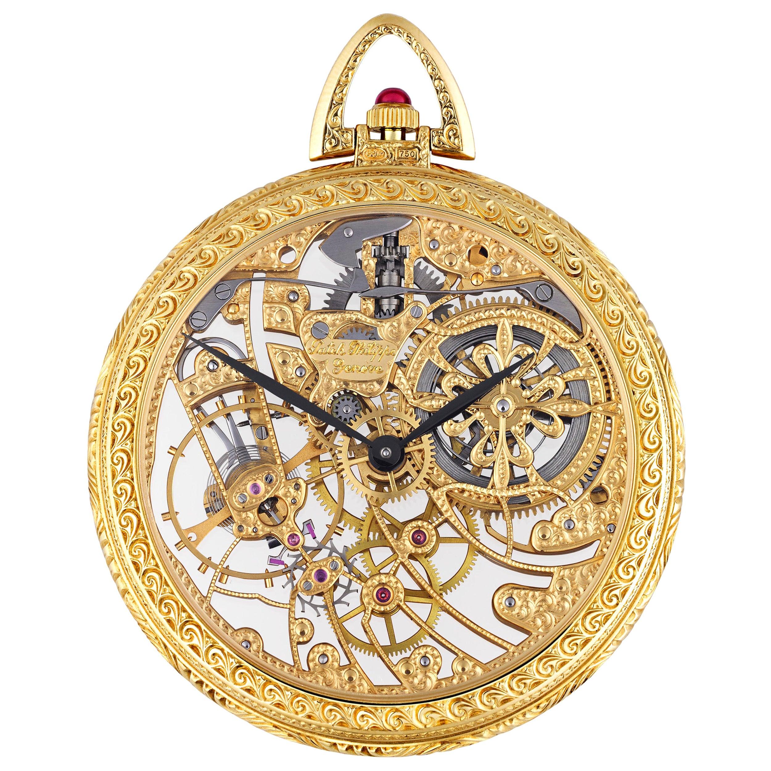 Patek Philippe Squelette Pocket Watch