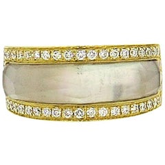 Stephen Webster Crystal Haze Gold Diamond Crystal Ring