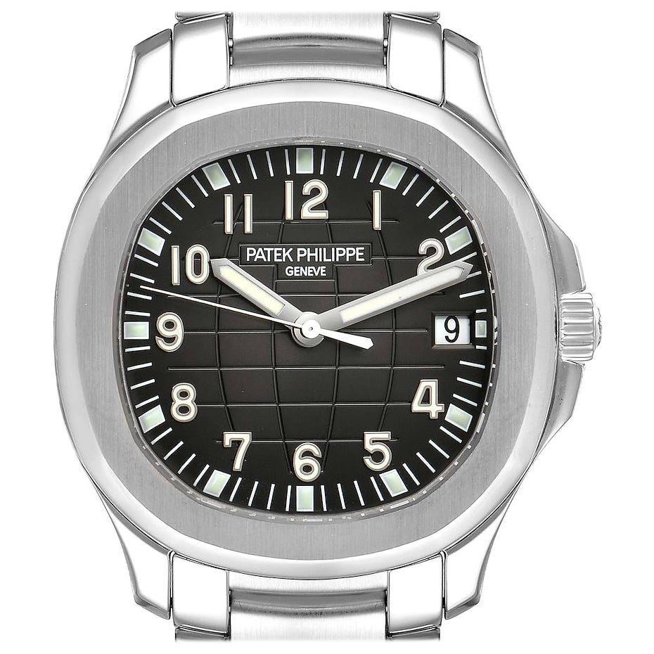 Patek Philippe Aquanaut Extra Large Men's Watch 5167A Papers