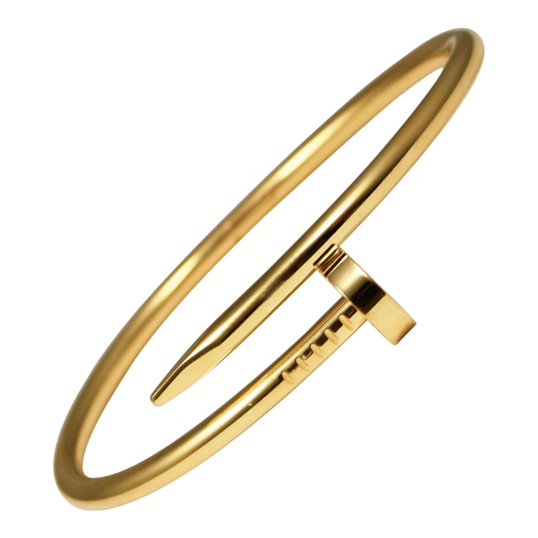 Cartier Juste Un Clou 18k Yellow Gold Bracelet