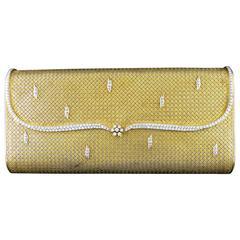 Diamond Gold Evening Bag