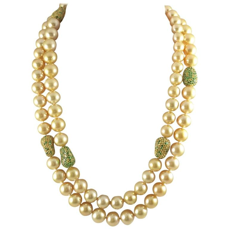 Glorious Golden South Sea Pearls