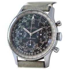 Breitling Stainless Steel Navitimer AOPA logo Wristwatch