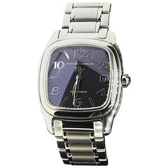 David Yurman Sterling Silver Stainless Steel Automatic Wristwatch