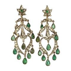 19th Century Dangle Earrings